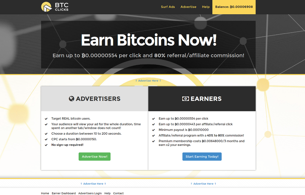 Review free bitcoin faucet: btcclicks.com – digital-coins.net